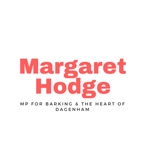 Margaret Hodge MP logo