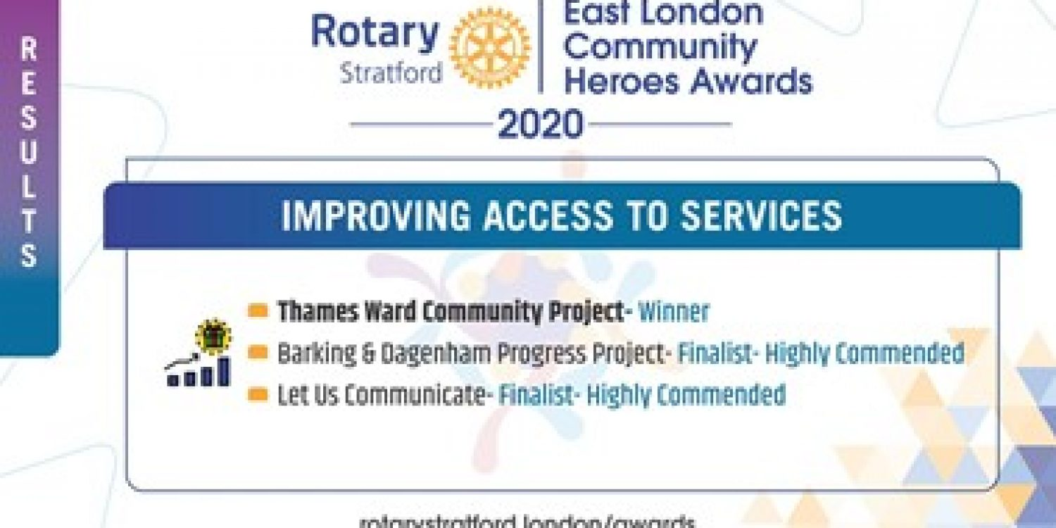 East London Community Heroes Awards 1